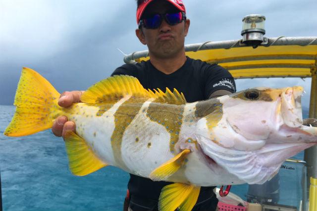 【沖縄・石垣島・釣り】ルアーをしゃくって、獲物を釣る ...