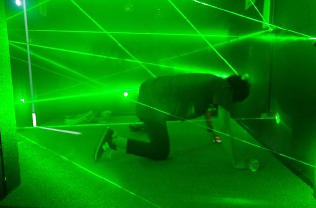 超密室レーザートラップ (渋谷区・原宿・恵比寿・代官山 脱出ゲーム)の「【原宿・脱出ゲーム】時間内に謎を解きダイヤを盗み出せ!美術館からの脱出」の画像