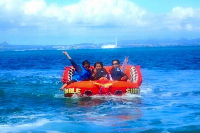 【沖縄・マリンスポーツ】マリンスポーツ6種類・180分遊び放題プラン