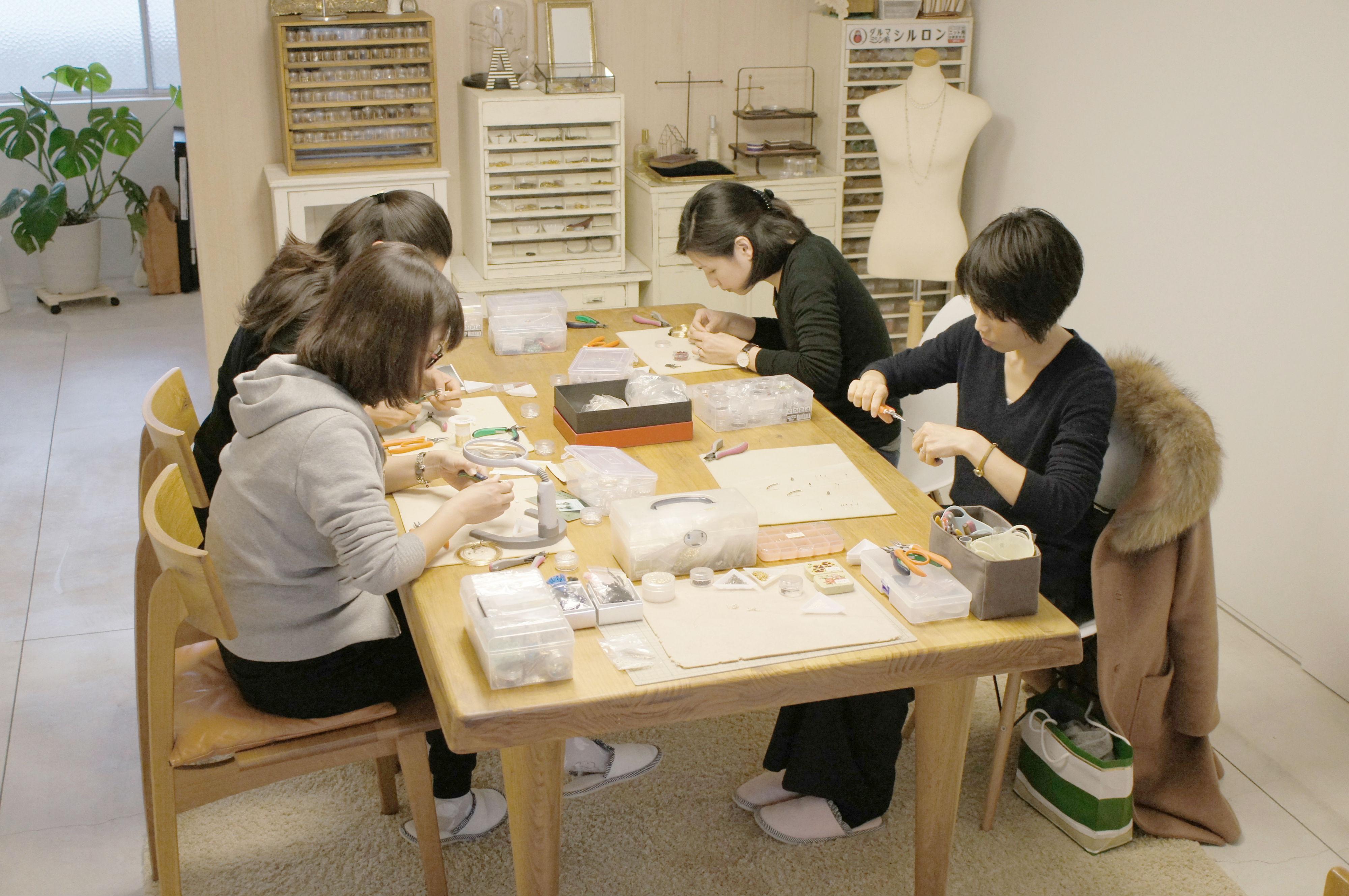【福岡・手作りアクセサリー】好きなアイテムを制作しよう!初回限定・1日体験プラン